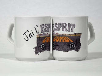 Mug J'ai l'Esprit Combi