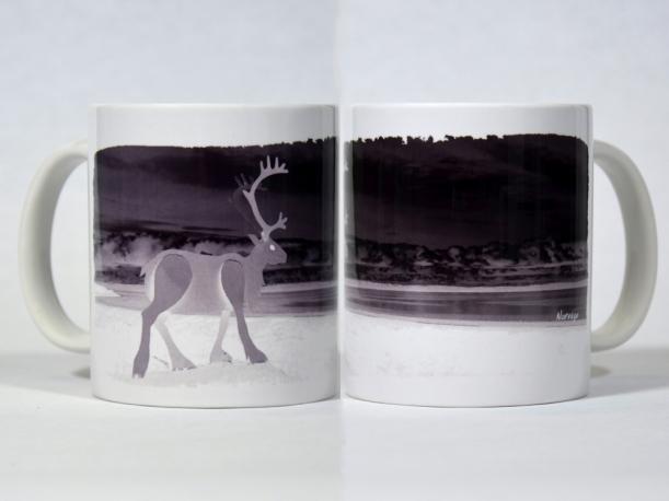 Mug Le Renne blanc