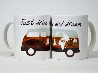 Just drive and dream Mug