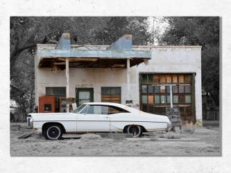 Pontiac Catalina - Aluminium 40x60