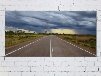 Australian roads - Canvas 120x60