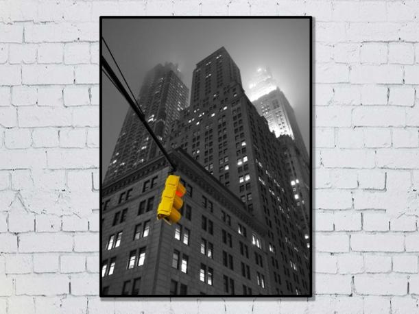 New York, États-Unis - Tirage 50x70 par Esprit Combi - 30,00 € -17%