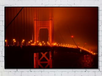San Francisco, United States - Photo Print 50x70