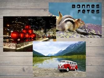 PACK : 2 cartes postales + 1 offerte par Esprit Combi - 4,00 €