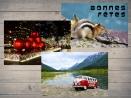 PACK : 2 cartes postales + 1 offerte