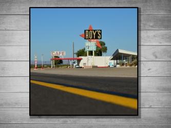 Roy's Motel, États-Unis - Tirage 30x30