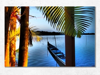 St Jean du Maroni, Guyana - Canvas 40x60