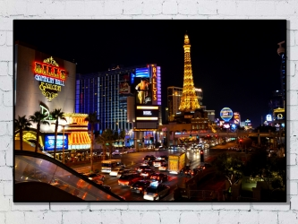 Las Vegas, United States - Photo Print 50x70