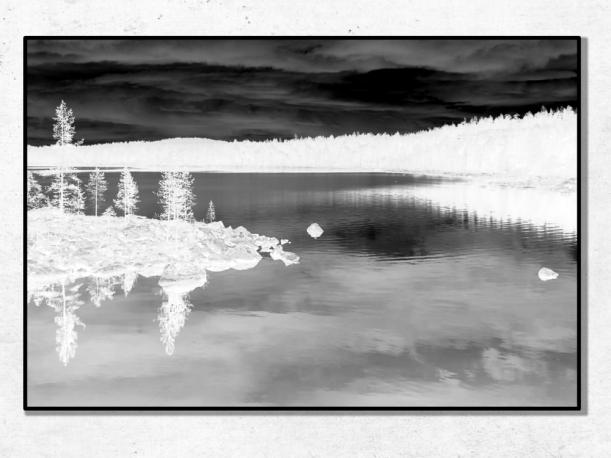 Lac, Norvège - Tirages 50x70 par Esprit Combi - 30,00 € -17%