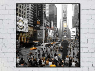 Time Square, États-Unis - Tirages 50x50