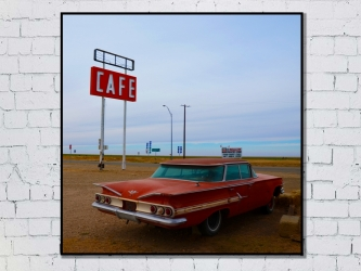 Road 66, United States - Photo Print 50x50