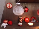 LOT : 3 boules de Noël