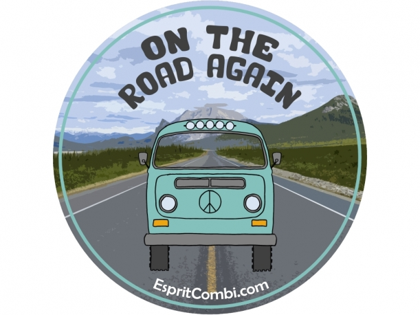 Sticker On the Road again