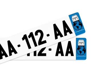 PACK License Plate Stickers