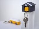Porte-clé 70'CLASSIC et son garage par Esprit Combi - 15,00 €