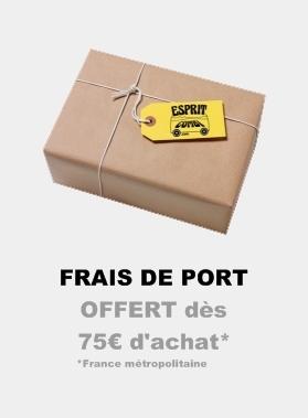 Livraison OFFERTE dès 75€ d'achat !