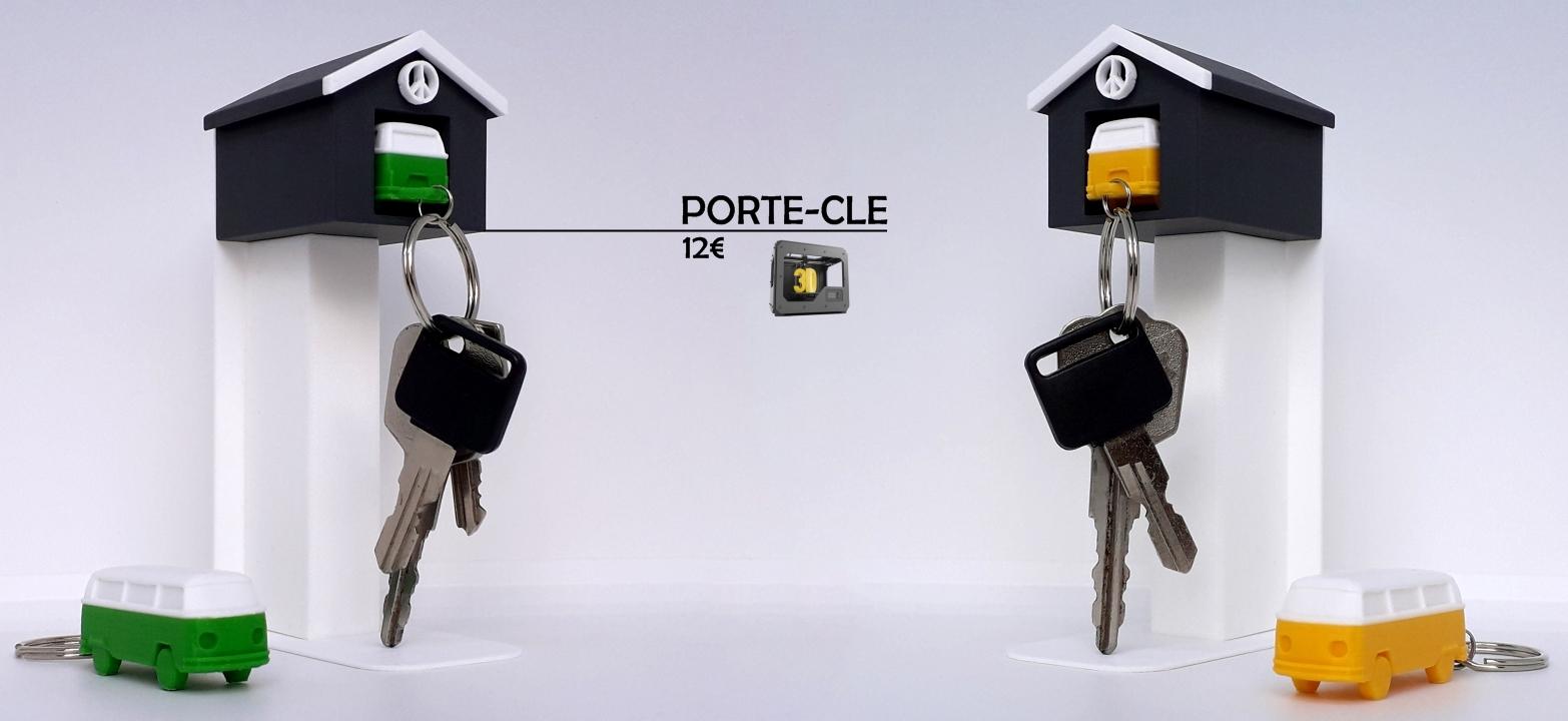Porte-clé imprimé en 3D !